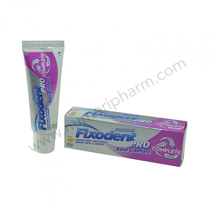 Fixodent Pro complete soin confort