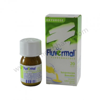 FLUVERMAL 2%, suspension buvable