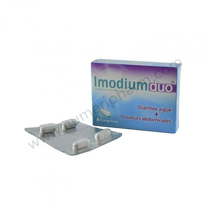 IMODIUM DUO, comprimé
