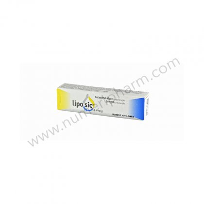 LIPOSIC 2 mg/g, gel ophtalmique