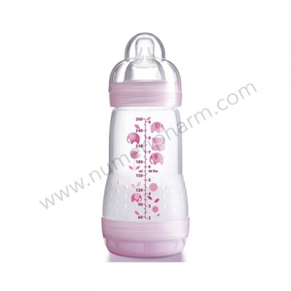 MAM 0-6, 260ml Rose
