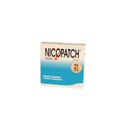 NICOPATCH 21 mg/24 h, dispositif transdermique