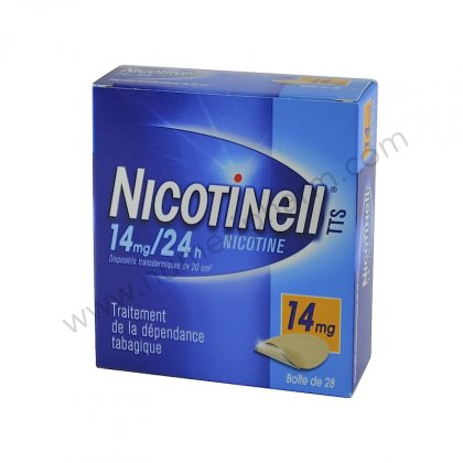 NICOTINELL 14 mg/24H, 7 patchs dispositif transdermique