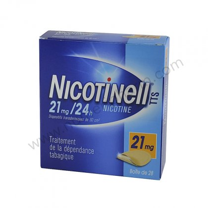 NICOTINELL 21mg/24H, 7 patchs dispositif transdermique