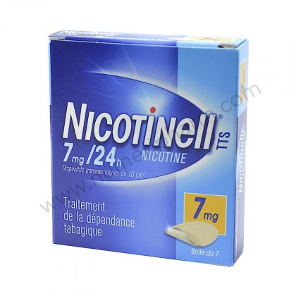 NICOTINELL 7mg/24H, 7 patchs dispositif transdermique