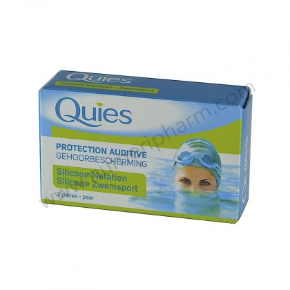 Protection Quies, silicone pour baignade