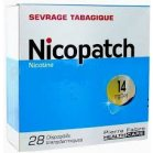 NICOPATCH 14 mg/24 h, dispositif transdermique