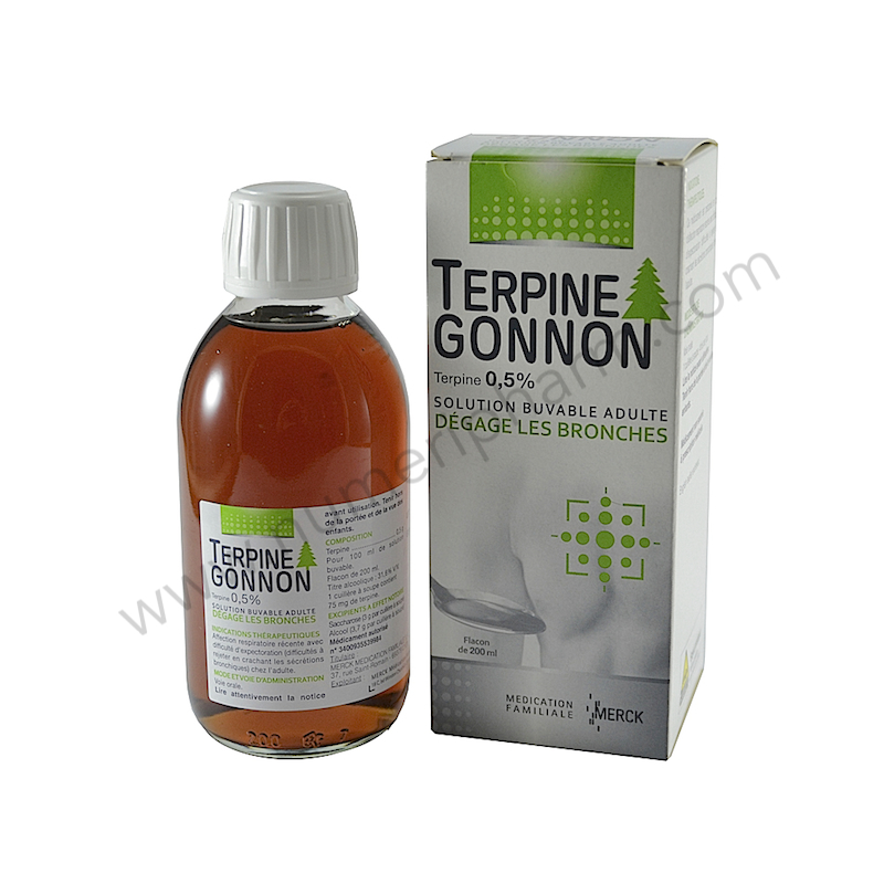 terpine gonnon sirop pour vacuer les s cretions. Black Bedroom Furniture Sets. Home Design Ideas